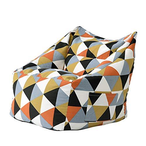 SD Fauteuil/Bean Bag Chaise/Pouf Poire/avec Mousse Ultra Confortable/A des Poches latérales/pour Enfants et adultes/70 * 66 * 66cm