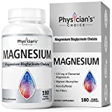 Best Magnesium Supplements - Magnesium Glycinate - Patented Bisglycinate Non Buffered Chelated Review