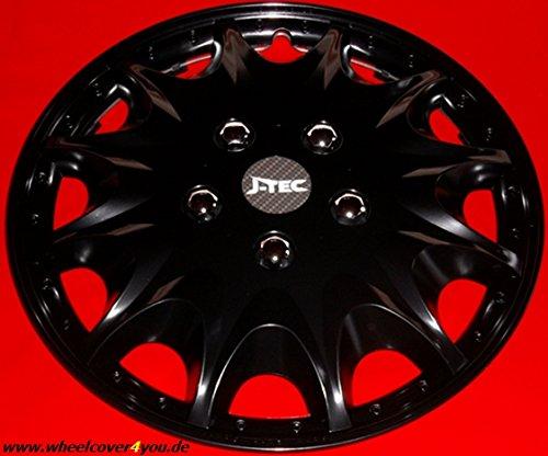 J-Tec 6 Radkappen Radzierblenden für FIAT Ducato/Hymer/Peugeot/Citroen in14 schwarz TOP