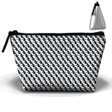 Women Girl Cute Seamless Penguins Toiletry Bag/Makeup Organizer/Cosmetic Bag/Portable Travel Kit Organizer/Household Storage Pack/Bathroom Storage for Business, Vacation, Household