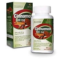 海外直送品Genceutic Naturals Organic Cinnamon 500 Mg, 60 Caps 500 Mg