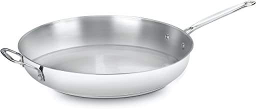 Cuisinart 722-36H Chef's Classic Stainless 14-Inch Open Skillet with Helper Handle