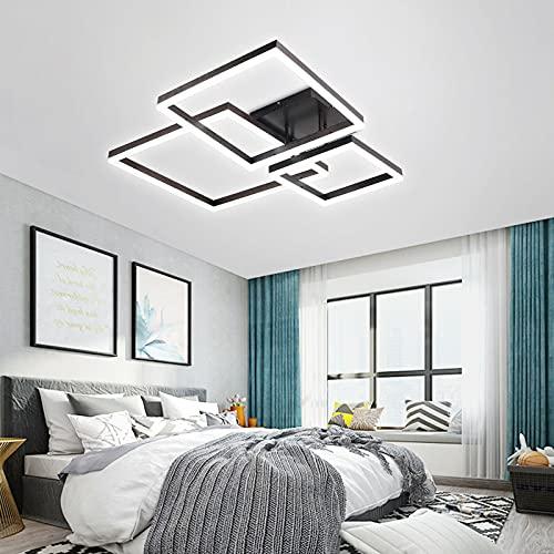 Lámpara de techo regulable de 3000 a 6500 K, con mando a distancia, LED, para salón o comedor