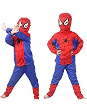 Fancy Steps Spiderman Dress Costumes for Kids pls See Size in dropdown