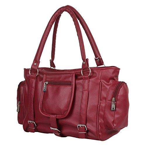 TipTop Women's Handbag, Red (CKRK105)