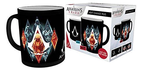 empireposter Assassins Creed - Legacy - Thermoeffekt Tasse - Größe Ø8,5 H9,5cm