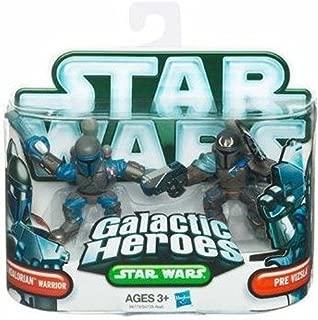 Star Wars 2010 Mandalorian Warrior Pre Vizsla by Hasbro - Galactic Heroes