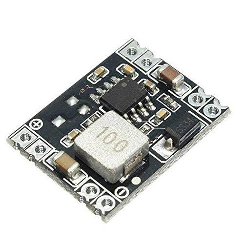 HYY-YY Convertidor de voltaje de la placa del módulo 10pcs módulo de fuente de DC-DC 12V 3A Potencia Buck Regulador Módulos de alto rendimiento Accesorios 24V 18V a 12V de salida Fija bajada del módul