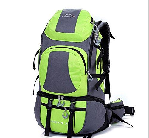 Voyage sacs à dos sac à dos de sports de plein air 38 L randonnée , green