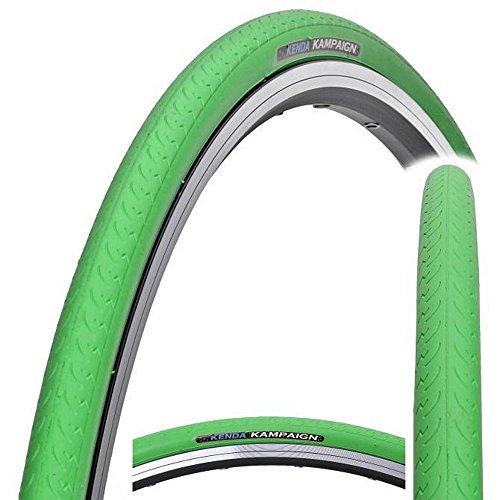 Kenda Kampaign K177Fahrradreifen 700x 23C, für Ein-Gang-Räder, Rennräder, Fixie-Räder und Trekking-Räder, Kampaign, grün, 700 x 23c