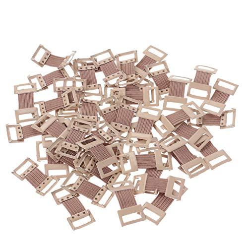HEALIFTY 50 stücke Bandage Aluminium Schnalle Elastische Bandage Clips Stretch Metallklammern für Verschiedene Arten Bandagen