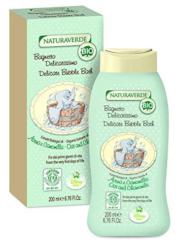 Disney Baby Bio Baño Corporal y Capilar Delicado con Extractos de Avena y Manzanilla Dumbo - 200 ml