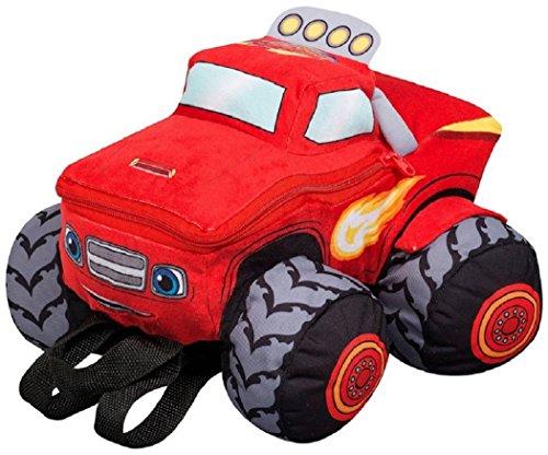 Mochila peluche coche Blaze and the Monster Machines