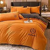 Funda Nordica Cama 150/135 Microfibra,Winter Fleed Warm Bed Single Special Duvet Se Utiliza En La Ropa De Cama, Adecuado Para La HabitacióN De Los NiñOs, Guangs, Hombres, Regalo De CumpleañOs De NiñA