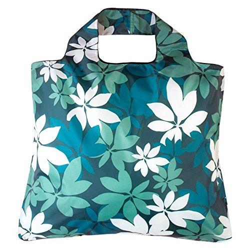 Envirosax Botanica Bag 3–zusammenklappbar; Wiederverwendbare Einkaufstasche–Tasche für Life