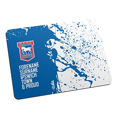Personalised Ipswich Town FC Official Proud Mouse Mat