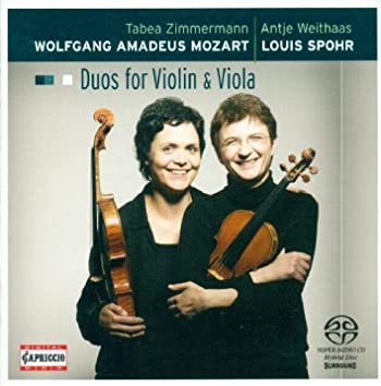 Mozart, W.A.: Duos for Violin and Viola - K. 423, 424 / Spohr, L.: Duo for Violin and Viola, Op. 13