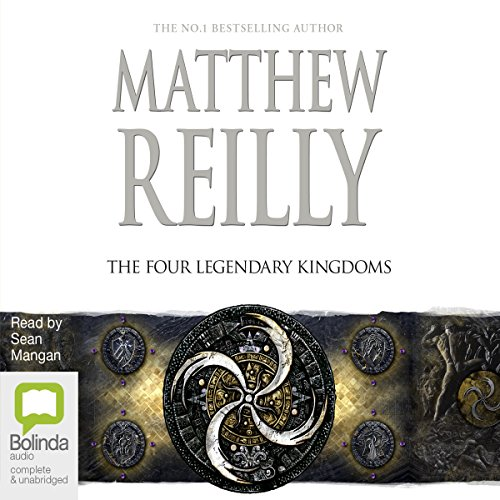 The Four Legendary Kingdoms audiobook cover art
