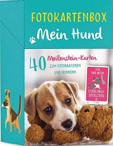 Fotokartenbox Mein Hund: 40 Meilenstein-Karten zum Fotografieren und Erinnern