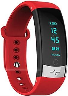 OPAKY Pulsera de Actividad de Ritmo cardíaco Contador de Pasos Calorías Recubrimiento Bracet Inteligente para niños Mujeres Hombres Pulsera Deportiva Monitor Cardiaco Reloj Pulsaciones