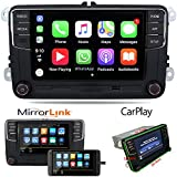 OEM 6,5 'coche Radio estéreo CarPlay MirrorLink Bluetooth para VW Golf, Caddy, Touran, CC
