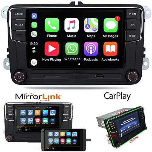 Autoradio RCD360 330 Carplay MirrorLink BT USB RVC SD MirroLink Für VW Tiguan Golf 5 6 MK5 MK6 Passat Touran EOS CC Jetta Polo