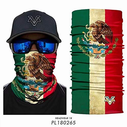 Starry Sky PL180265 Hoofddoek voor mannen en vrouwen, bescherming mond en neus, vissen, masker, sjaal, fiets hals, warme nek, leggings, tuberiding, sport hoofdtooi mannen (kleur: