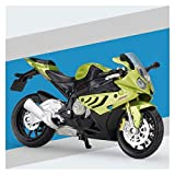 1:18 para BMW S 1000 RR Aleación Diecast Motory Model Workable Shork Absorber For Children Gifts Toy Collection (Color : 8)