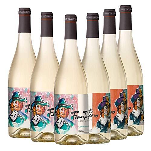 Vino blanco Faustino Art Collection Chardonnay | 6 Botellas
