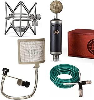 Blue Baby Bottle SL Microphone Bundle with the Pop filter, and quad xlr premium cable Blue Mic bundle