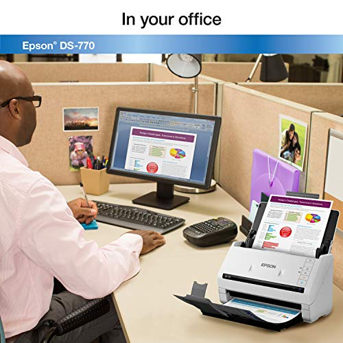 Epson DS-770 Document Scanner: 45 ppm, Twain & ISIS Drivers, 3-Year Warranty with Next Business Day Replacement Photo #6