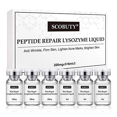 Hyaluron Serum, Anti Akne Serum, Gegen Akne, Gesichtsserum mit Hyaluronsäure, Feuchtigkeitsserum, Gesichtspflege, Flüssigkeitszufuhr und Feuchtigkeitsspendend, Verbessert vergrößerte Poren