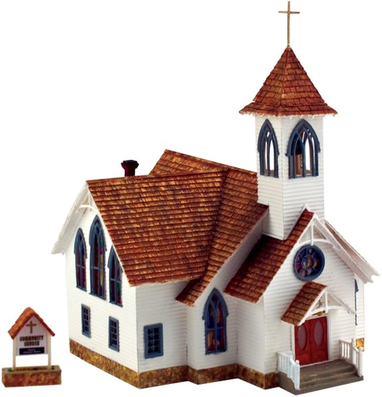 Woodland Scenics BR5041 HO Built-Up Community Church by Scenics