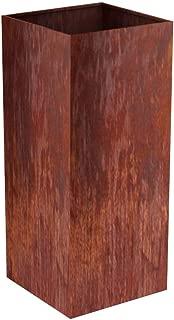 MK Designs Corten Steel Column Planter, 14
