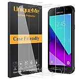 [3 Pack] UniqueMe Schutzfolie für Samsung Galaxy Xcover 4/ Samsung Galaxy Xcover 4S Panzerglas,Panzerglasfolie Schutzglas HD Gehärtetes Glas [3D Touch] [Anti-Bubbles]