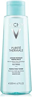Vichy Pureté Thermale Perfecting Face Toner, Alcohol-Free, 6.76  Fl  Oz