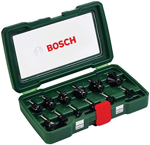 Bosch HM-Fräser-Set 12-teilig (Zubehör für POF 1200 AE und POF 1400 ACE)