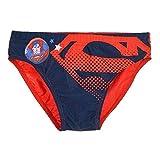 COSTUME MARE SUPERMAN MARVEL SUPEREROE SLIP MUTANDINA BAMBINO 3/8 ANNI-ET1855ROSSO