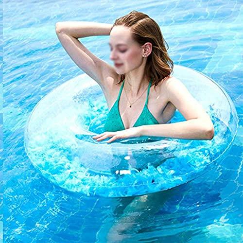 Zwemmen rit-on zwemring opvallend, voor zomer zwembadfeesten! (Color : 81cm)