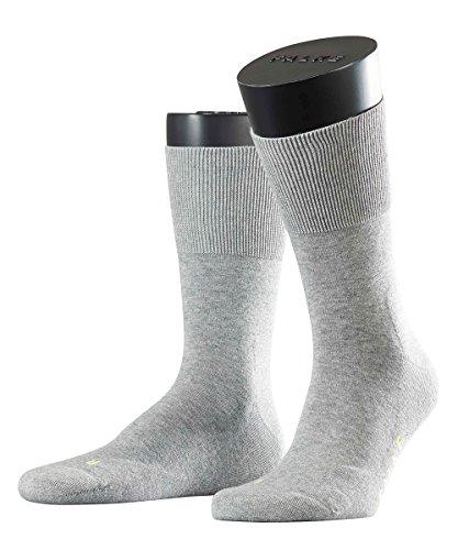 FALKE 3 Paar Run SO Socken 16605 Sportliche Allround-Socke UNISEX, Farbe:Light grey 3400, Socken & Strümpfe:39-41