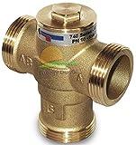 Válvula anticondensación termostática de 1'1/4M calibración 45°C