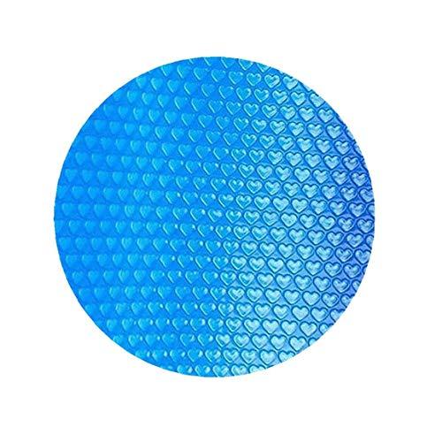 Nicetruc Piscina Cubierta Piscina Redonda Solar Cubierta Protectora Impermeable Polvo Piscina de Aislamiento de Cine Inicio Piscina Accessor 450CM