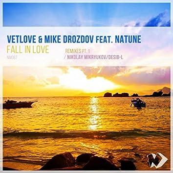 Fall in Love: Remixes, Pt. 1