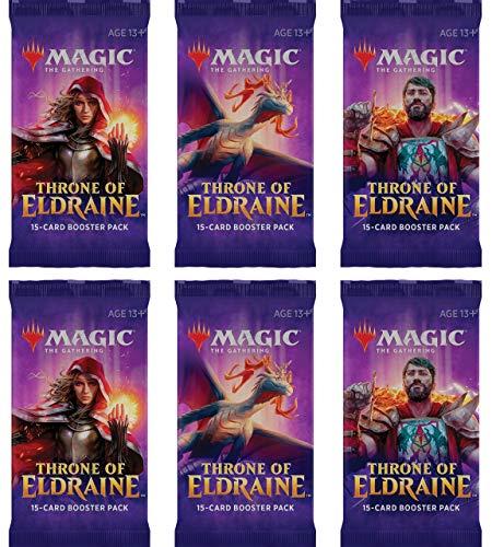 Throne of Eldraine booster packs