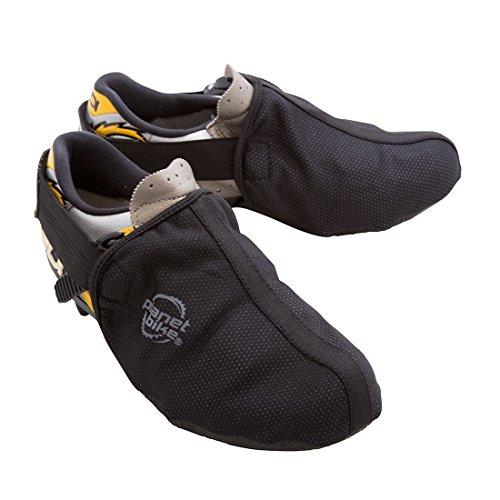 Planet Bike Dasher Toe Covers, Uomo, Black