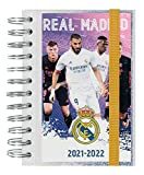 Agenda Real Madrid 2021-2022 - Agenda escolar 2021-2022 / Agenda 2021 día por página - Agenda 11 meses desde Agosto de 2021 a Junio de 2022 | Producto licencia oficial - Agenda Kalenda