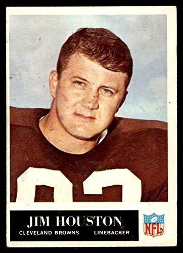 1965 Philadelphia # 35 Jim Houston Cleveland Browns-FB (Football Card) EX Browns-FB Ohio St