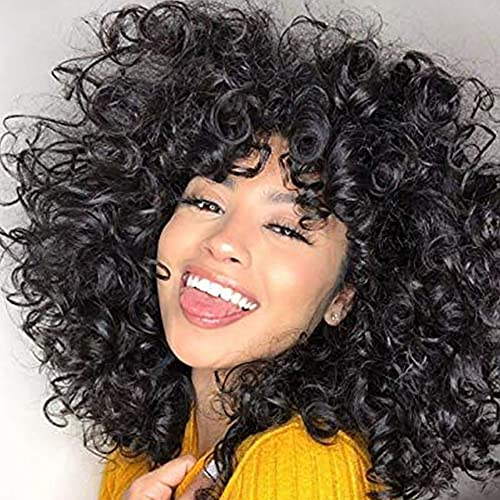 Short curly wigs african american