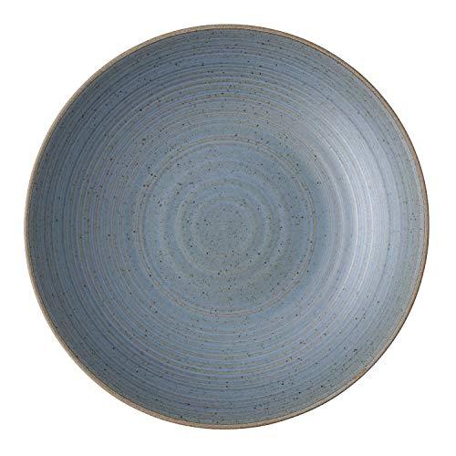 Thomas Rosenthal Nature Water - Suppenteller/Teller tief - Steinzeug - blau - Ø 23 cm