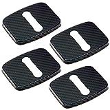 Negesu(ネグエス) ドアストライカーカバー BMW ドアロックカバー カーボン ステンレス